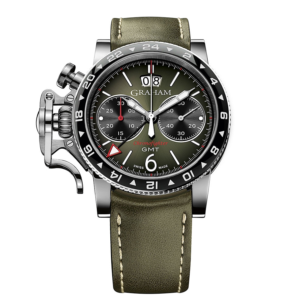 Graham Chronofighter Vintage GMT Watch