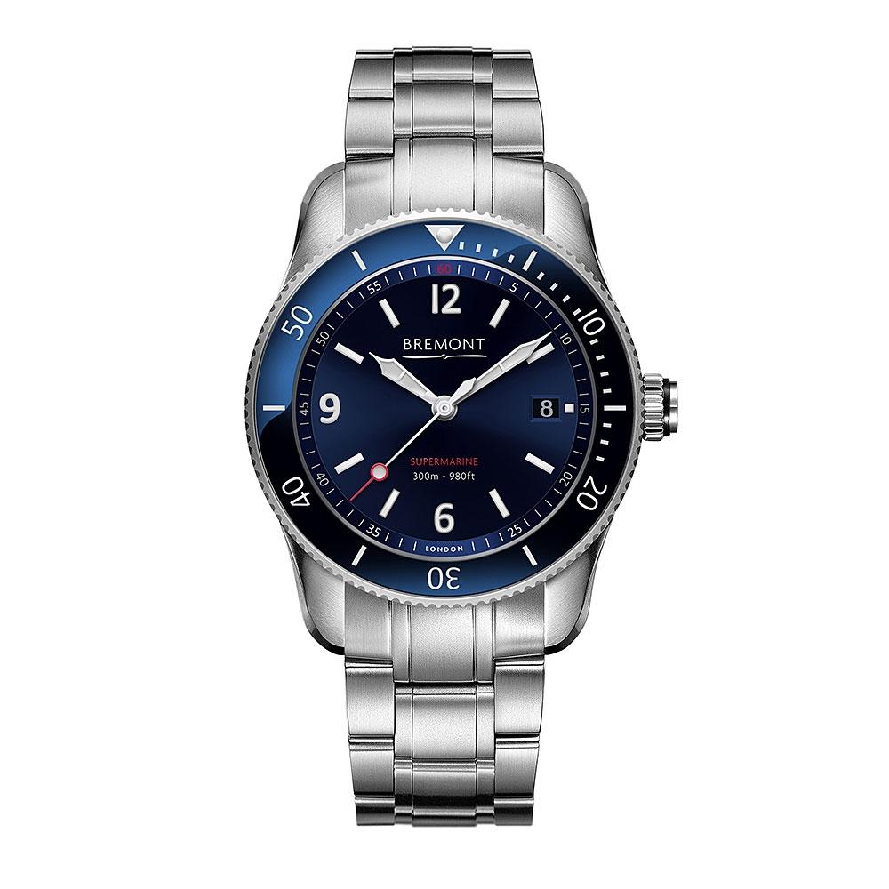 Bremont Supermarine Type 300 Divers Watch S300/BL
