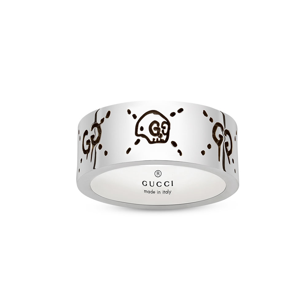 Gucci Ghost Ring Size