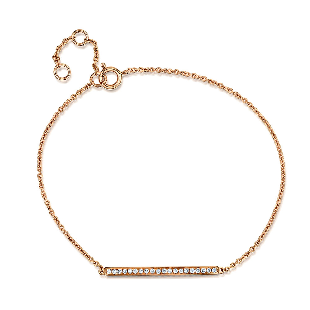 ROX Diamond Bar Bracelet 0.11cts
