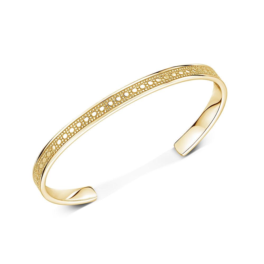 ROX Boho Gold Vermeil Skinny Torque