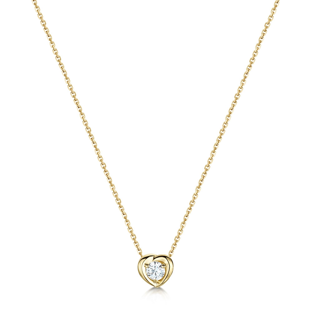 ROX Diamond Heart Pendant 0.09cts