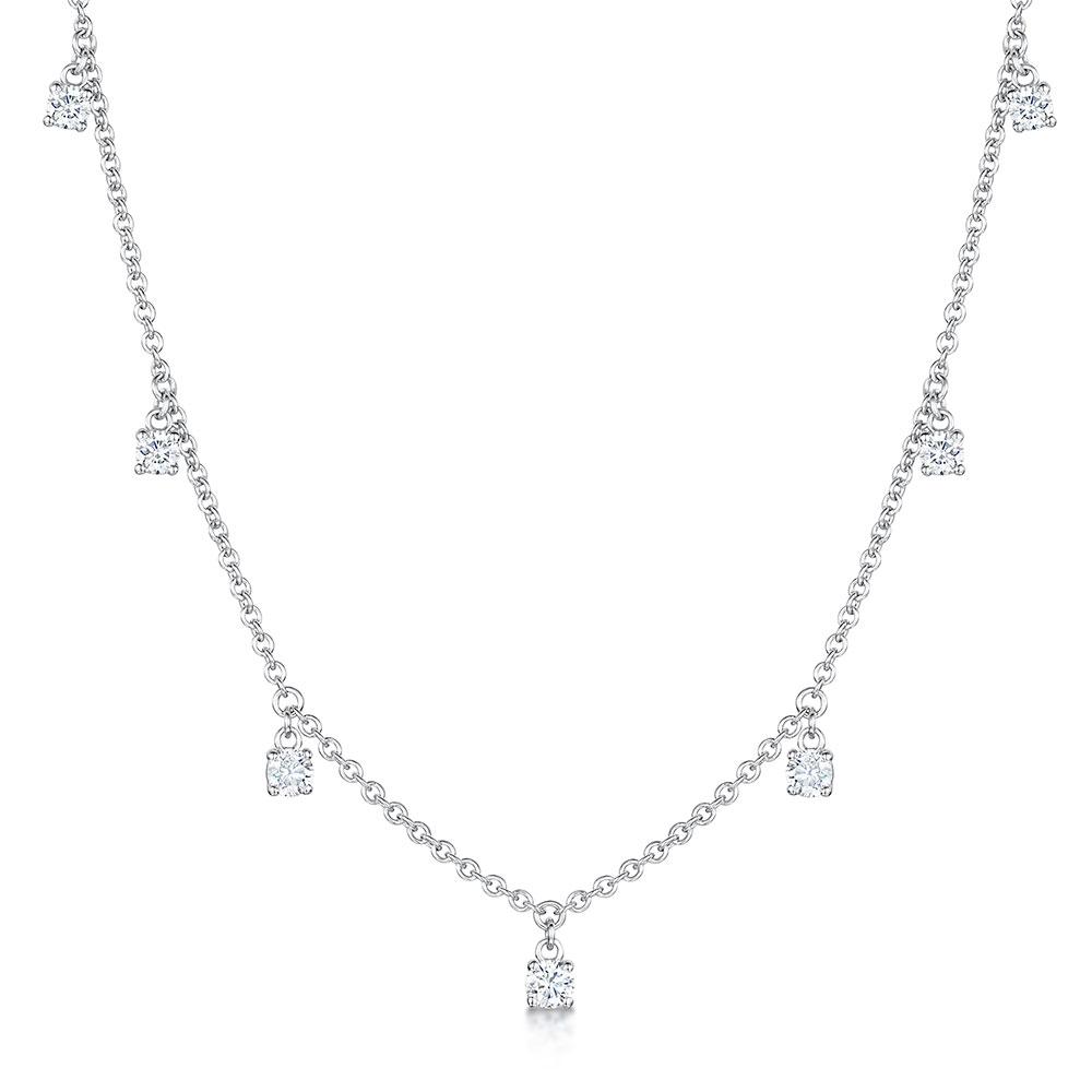 ROX Diamond Droplet Pendant 0.53cts