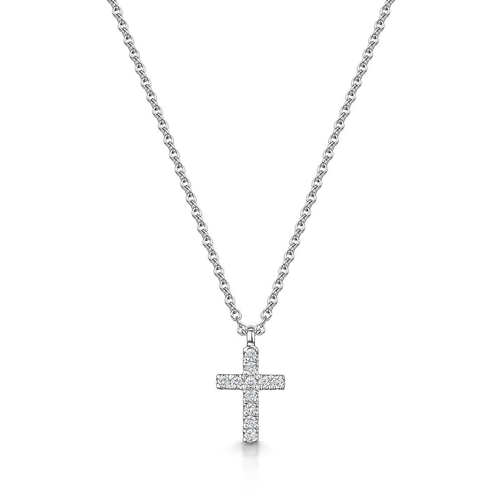 ROX Diamond Cross Pendant 0.07cts