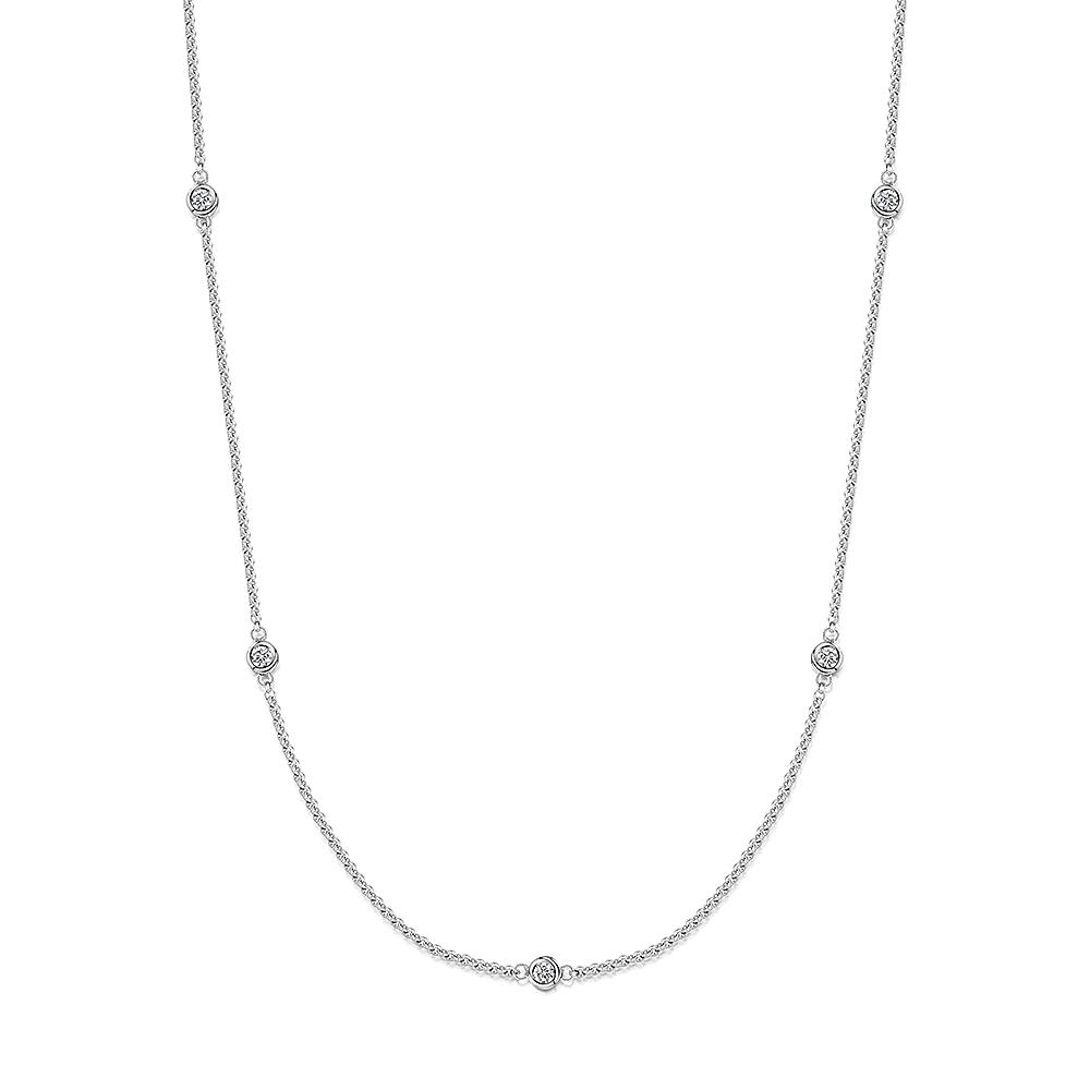 ROX Long Diamond Pendant 0.40cts