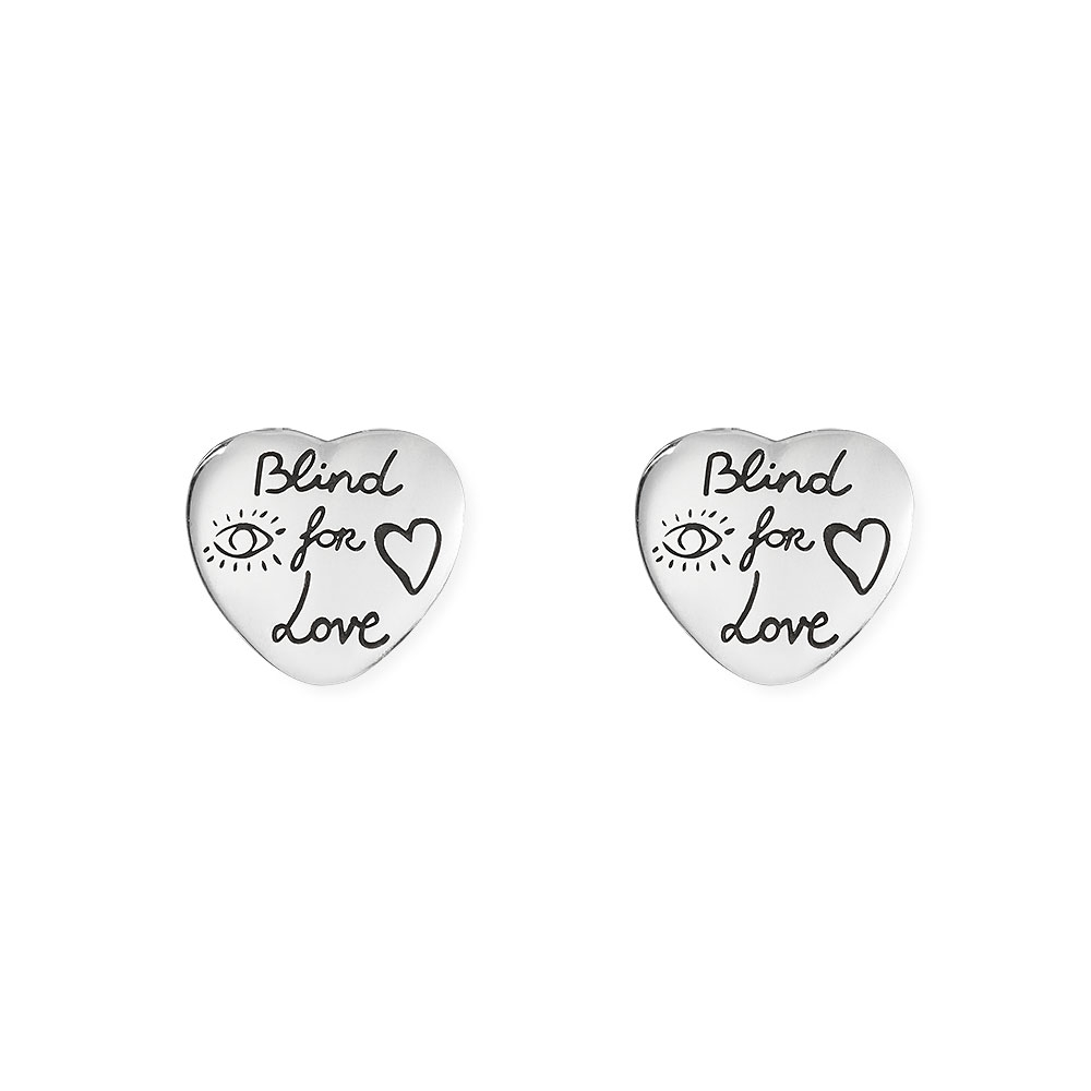 Gucci Blind for Love Stud Earrings