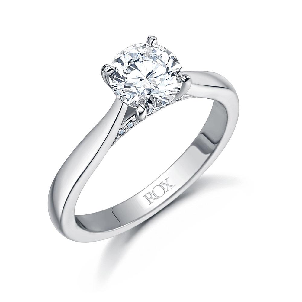Adore Brilliant Cut Diamond Ring 1.04cts