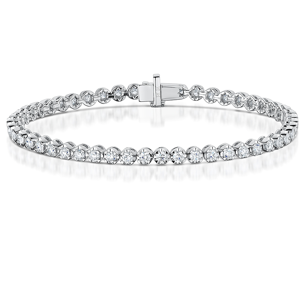 Diamond Tennis Bracelet 3.00cts