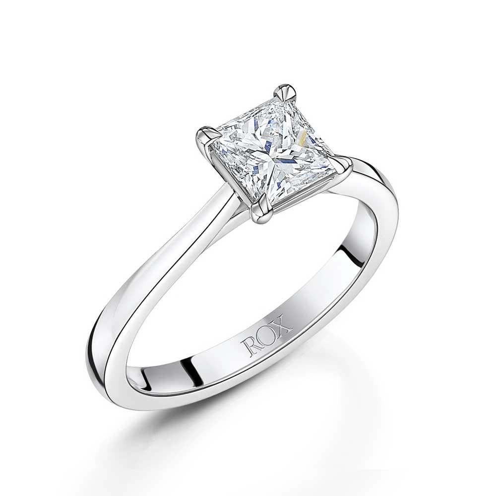 ROX Honour Princess Cut Diamond Ring 1.01cts