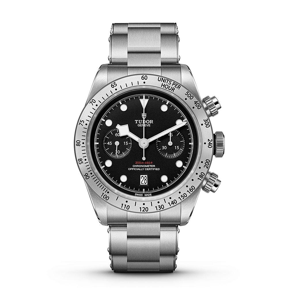 Tudor Heritage Black Bay Chrono 41mm Watch