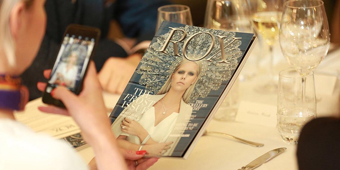 ROX Presents... ROX Magazine AW17 Launch Dinner