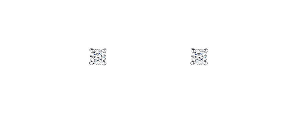 Diamond Classic Stud Earrings 0.08cts