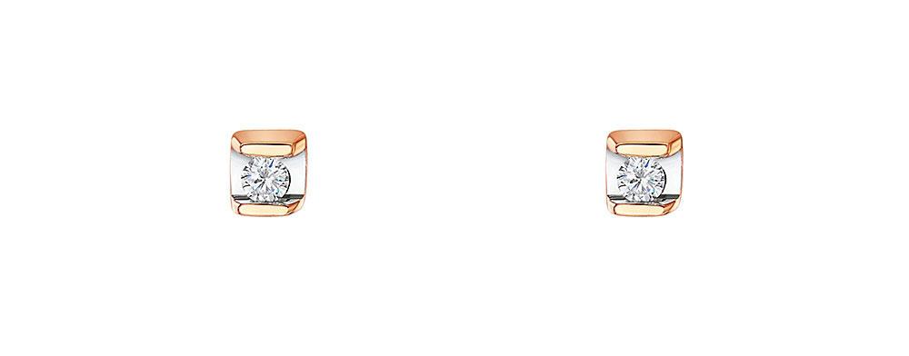 Diamond Earrings 0.06cts