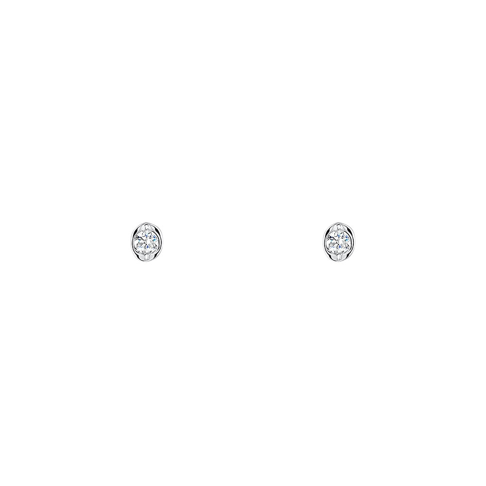 ROX Classic Tension Diamond Earrings 0.06cts