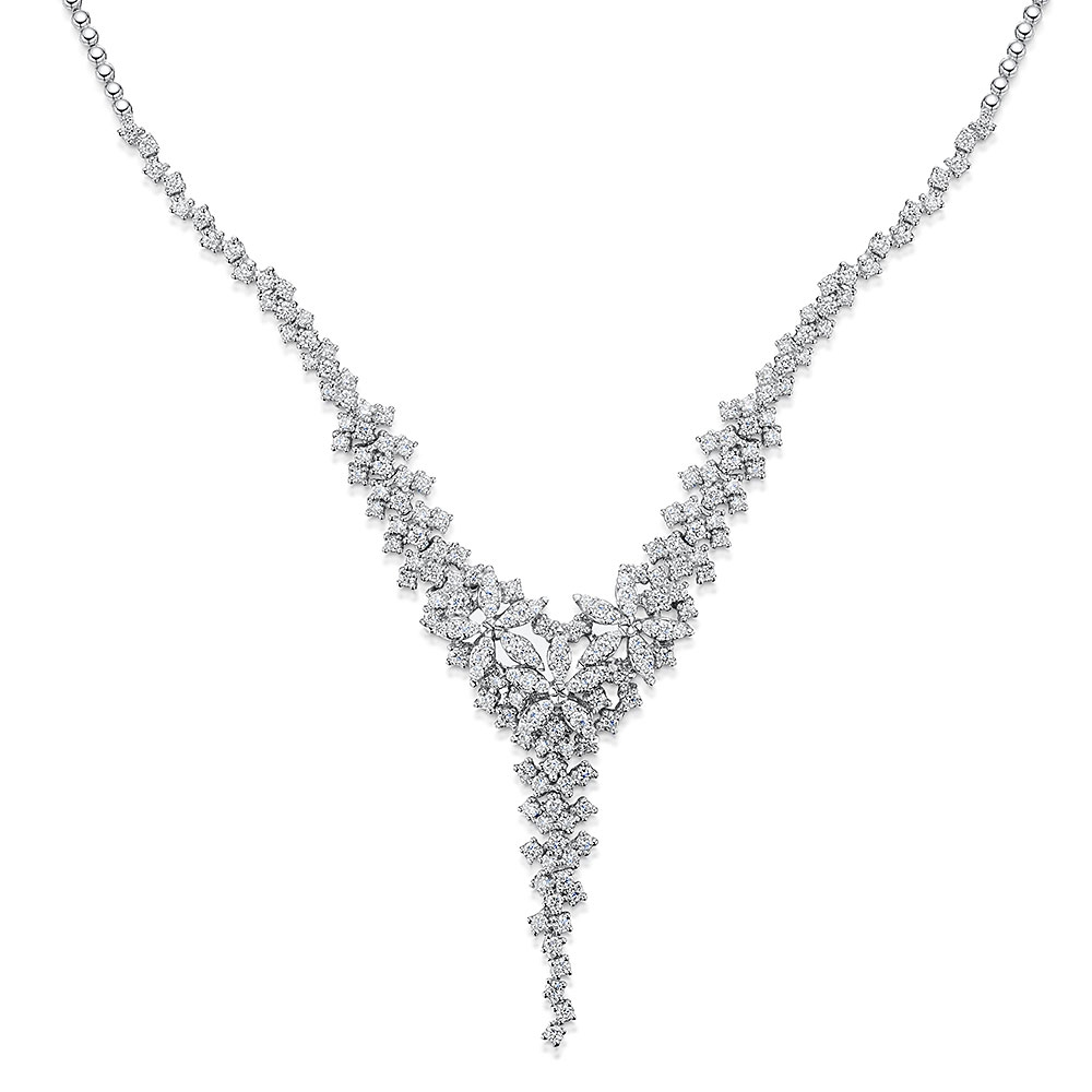 ROX Diamond Drop Collar 3.47cts