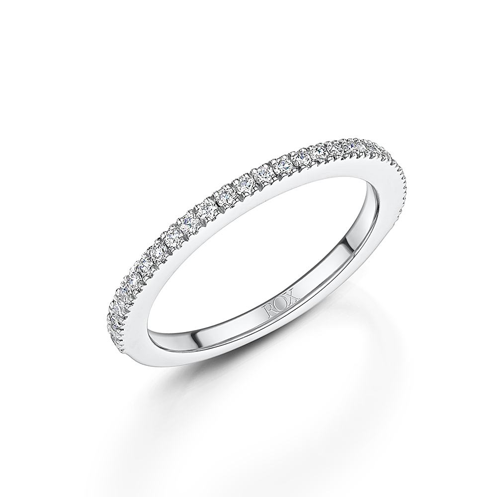 ROX Love Brilliant Cut Diamond Wedding Ring 0.22ct