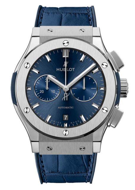 Hublot Classic Fusion Blue Titanium Watch