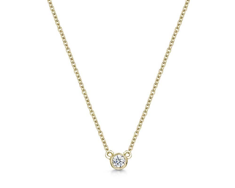 Diamond Pendant 0.09cts