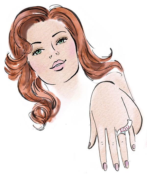 Engagement rings myths