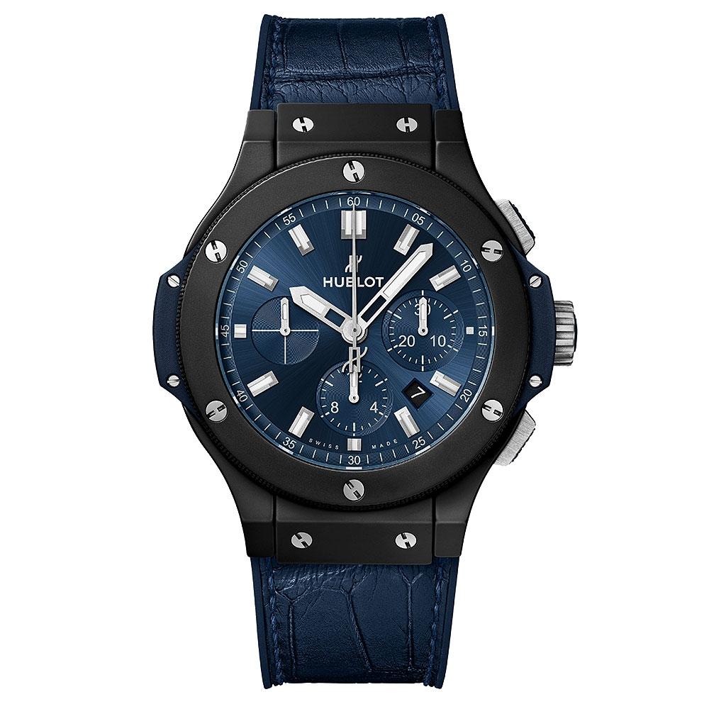 Big Bang Ceramic Blue Chronograph Watch