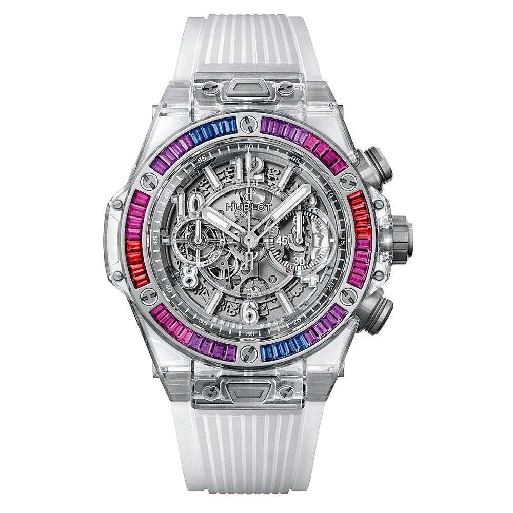 Hublot Unico Sapphire Galaxy Watch