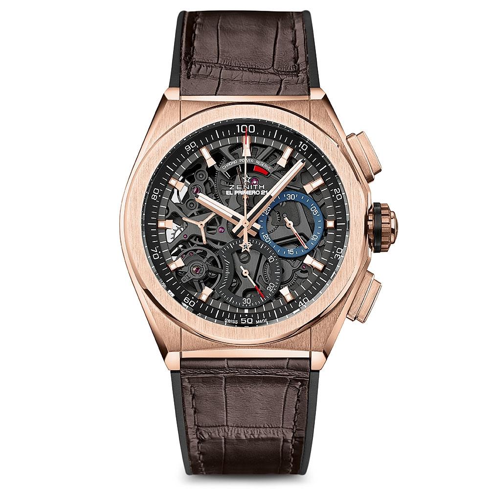 Zenith El Primero Rose Gold Defy 44m Watch