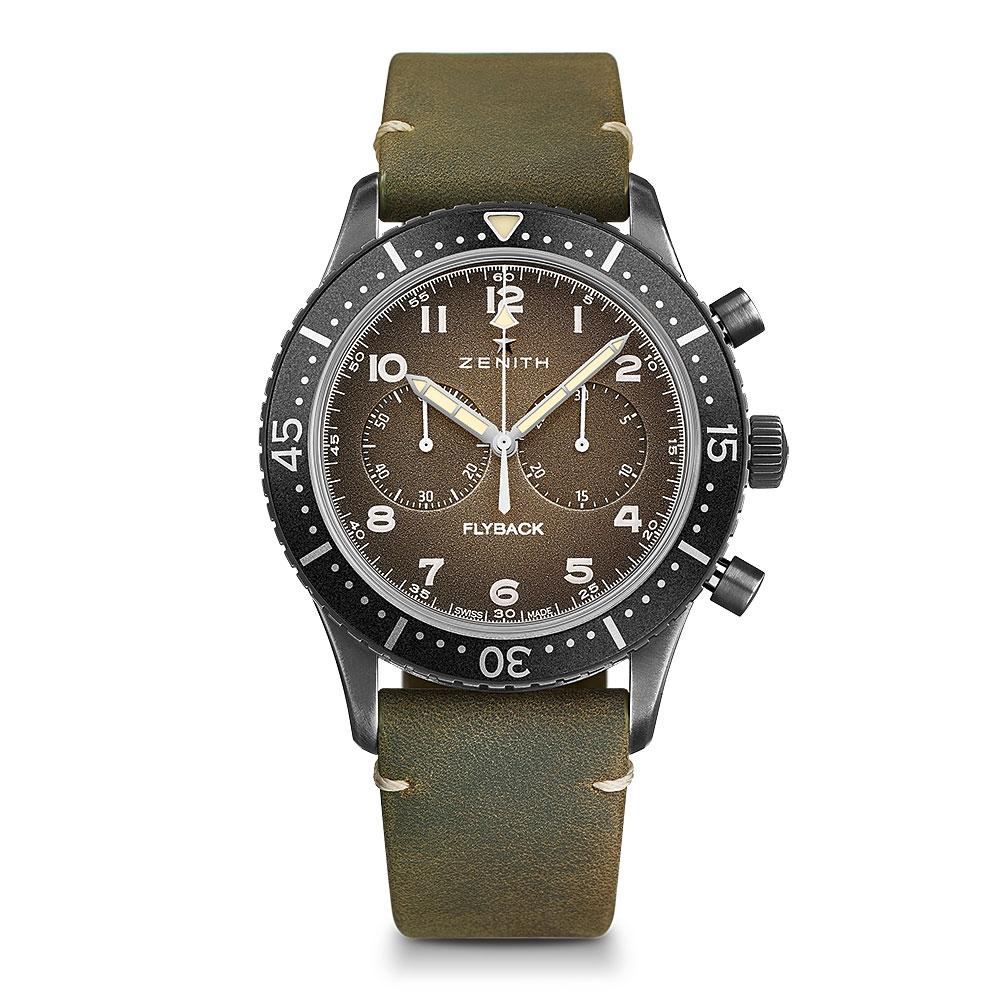 Zenith Pilot Cronometro Tipo CP-2 43mm Watch