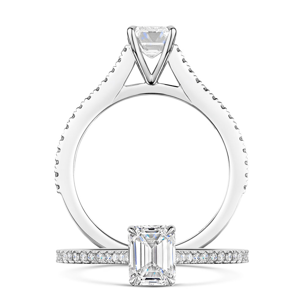 Love Collection - Emerald Cut