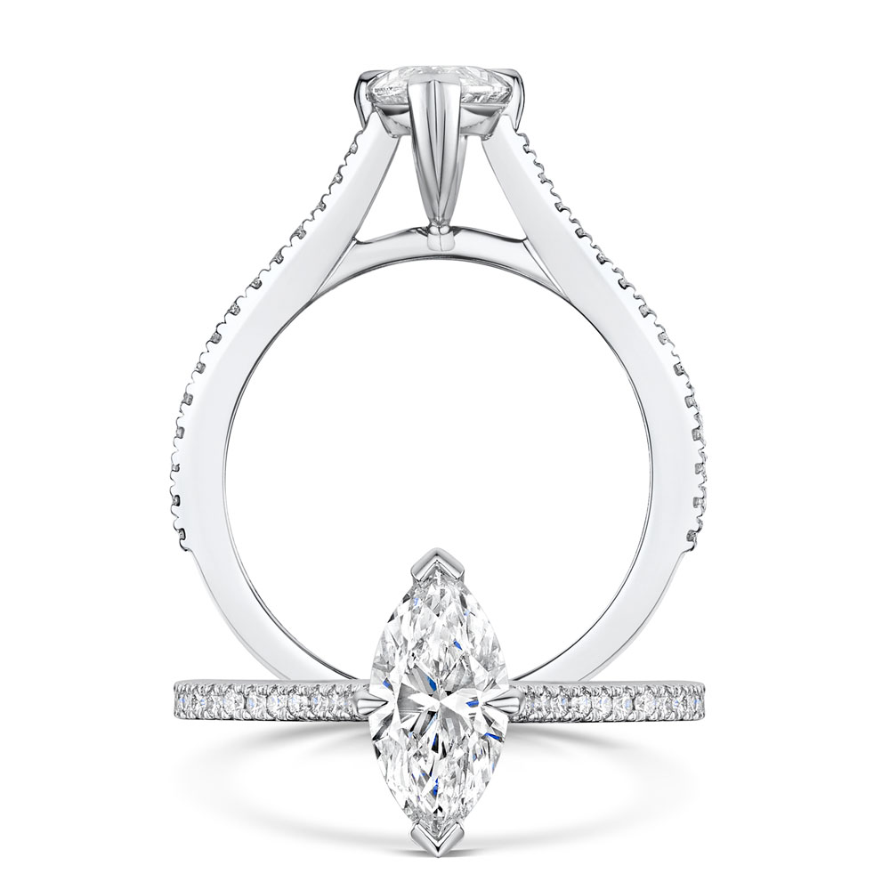 Love Collection - Marquise Cut