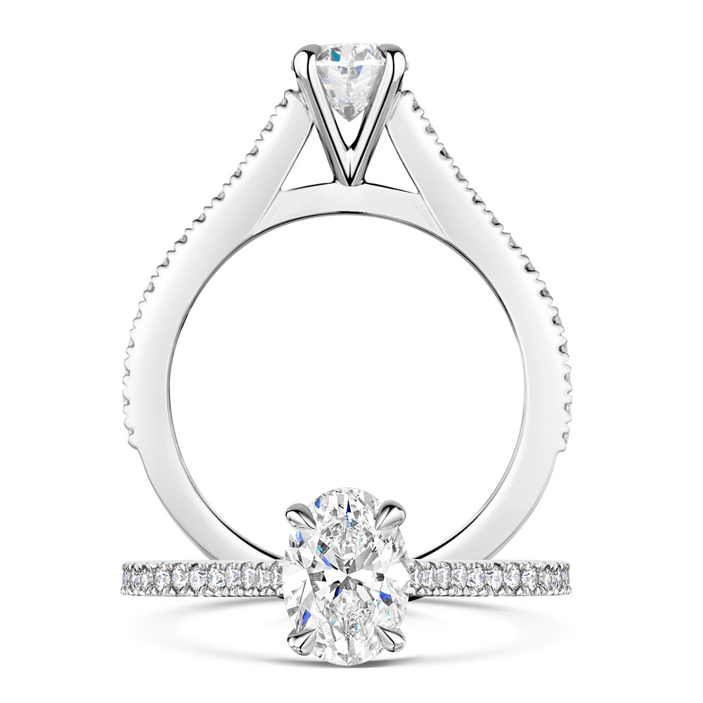 Love Collection - Oval Cut