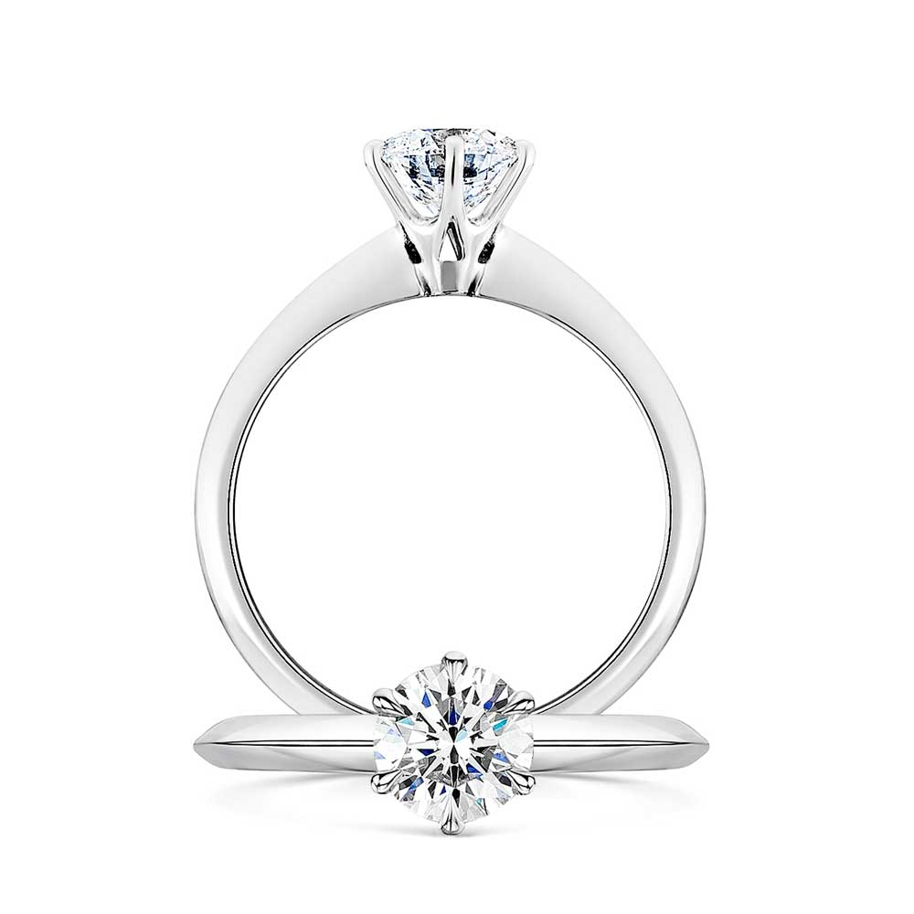 Classic Solitaire Diamond Ring