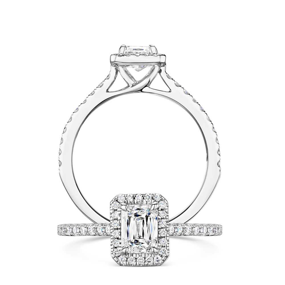 Crisscut® Diamond Ring