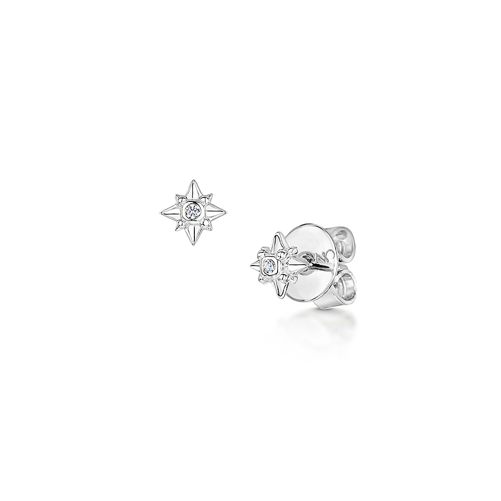 ROX Celestial Star Stud Earrings