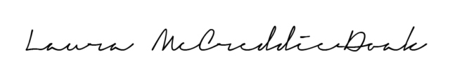 Laura McCreddie-Doak Signature