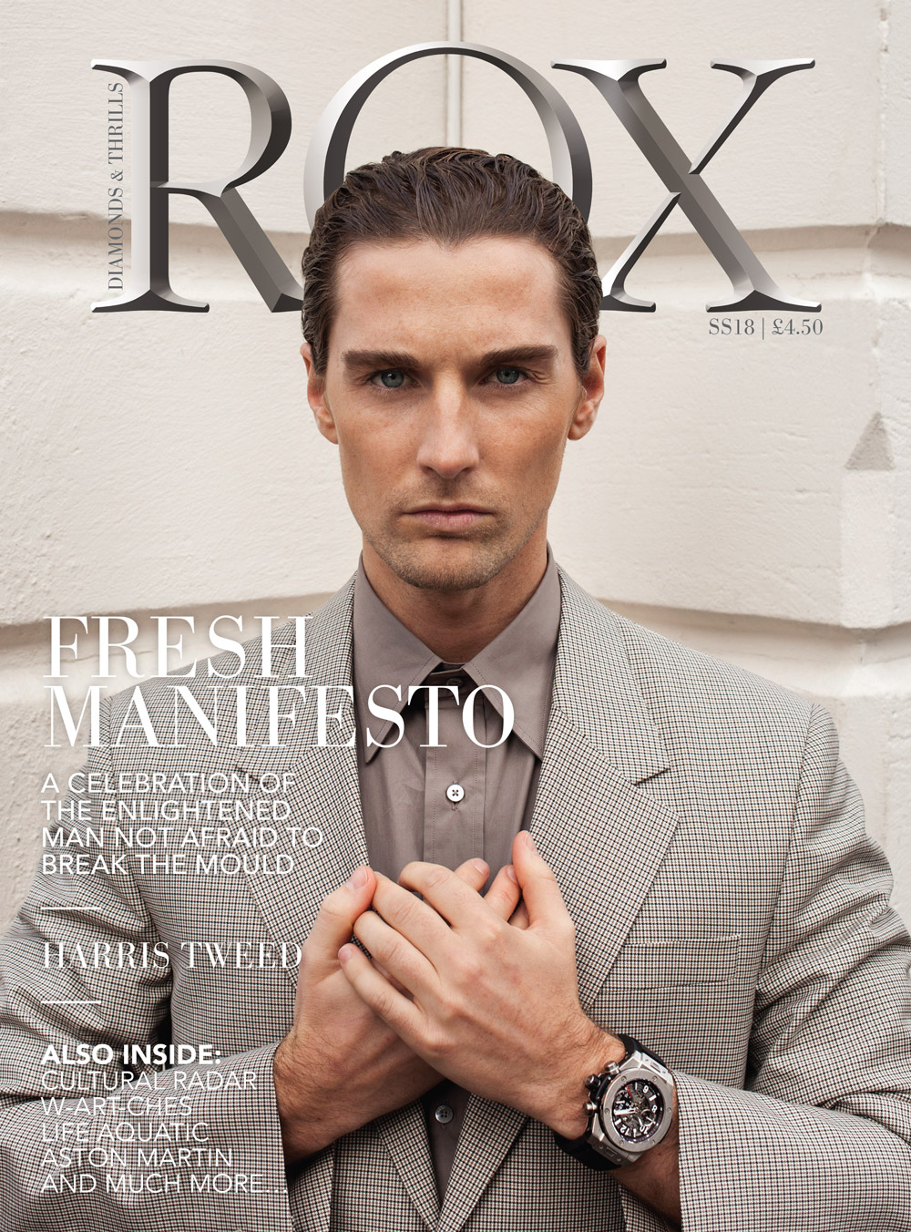 SS18 ROX Man Cover