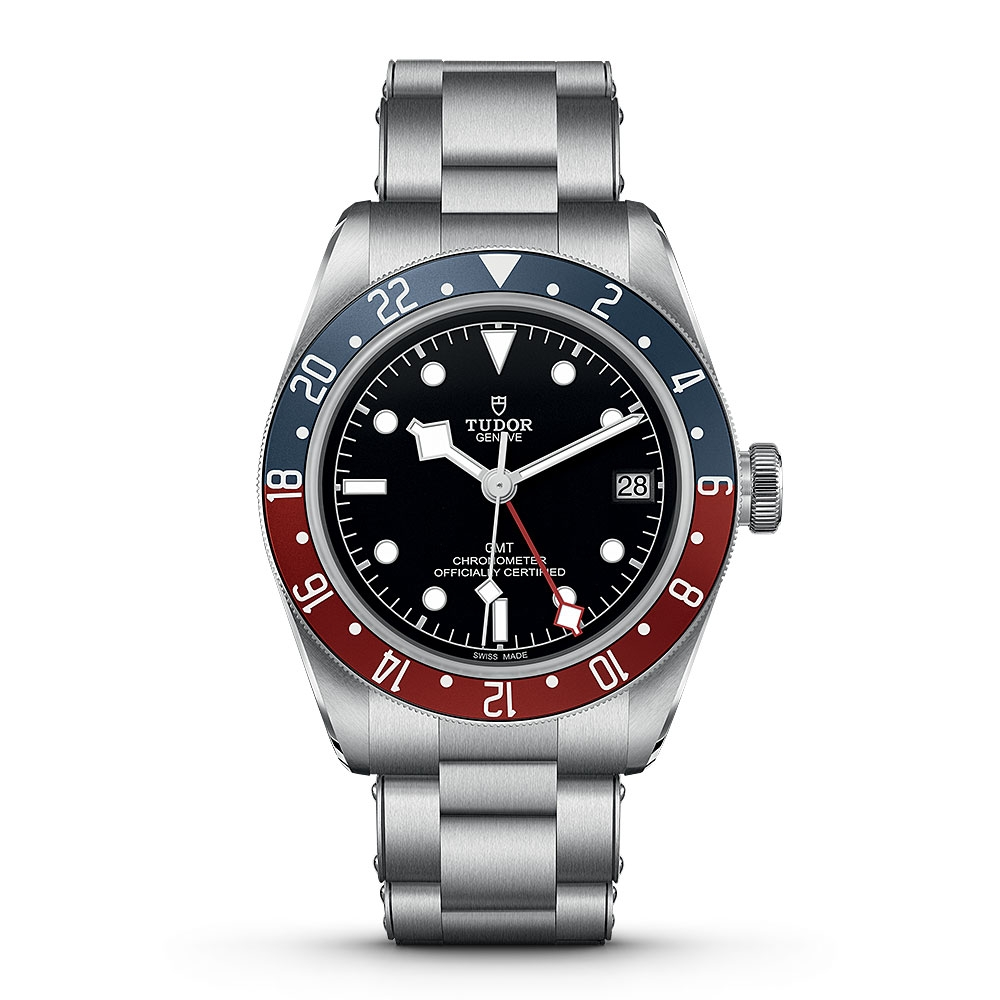 Tudor Black Bay GMT Bracelet Watch M79830RB-0001