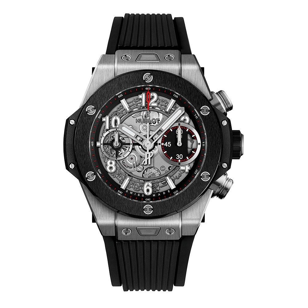 Hublot Big Bang Unico Titanium Ceramic Watch 42mm 441.NM.1170.RX