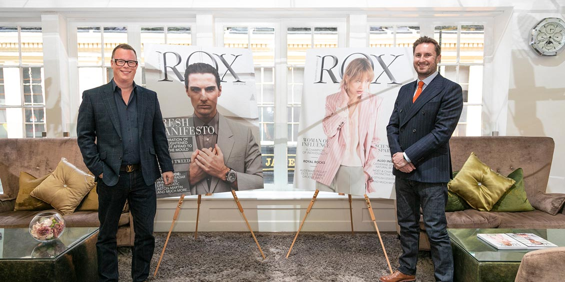 CELEBRATORY SOIRÉE LAUNCHES ROX MAGAZINES SS18