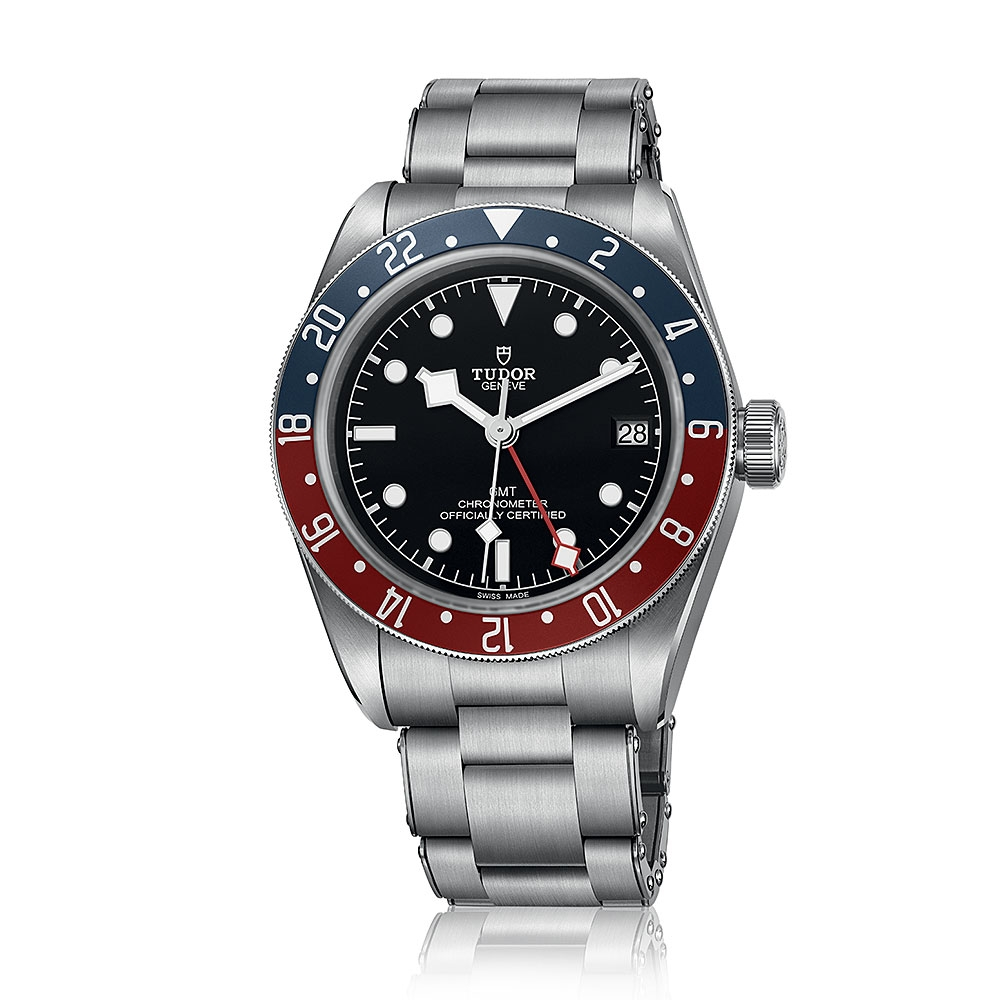 Tudor Black Bay GMT Bracelet Watch M79830RB-0001