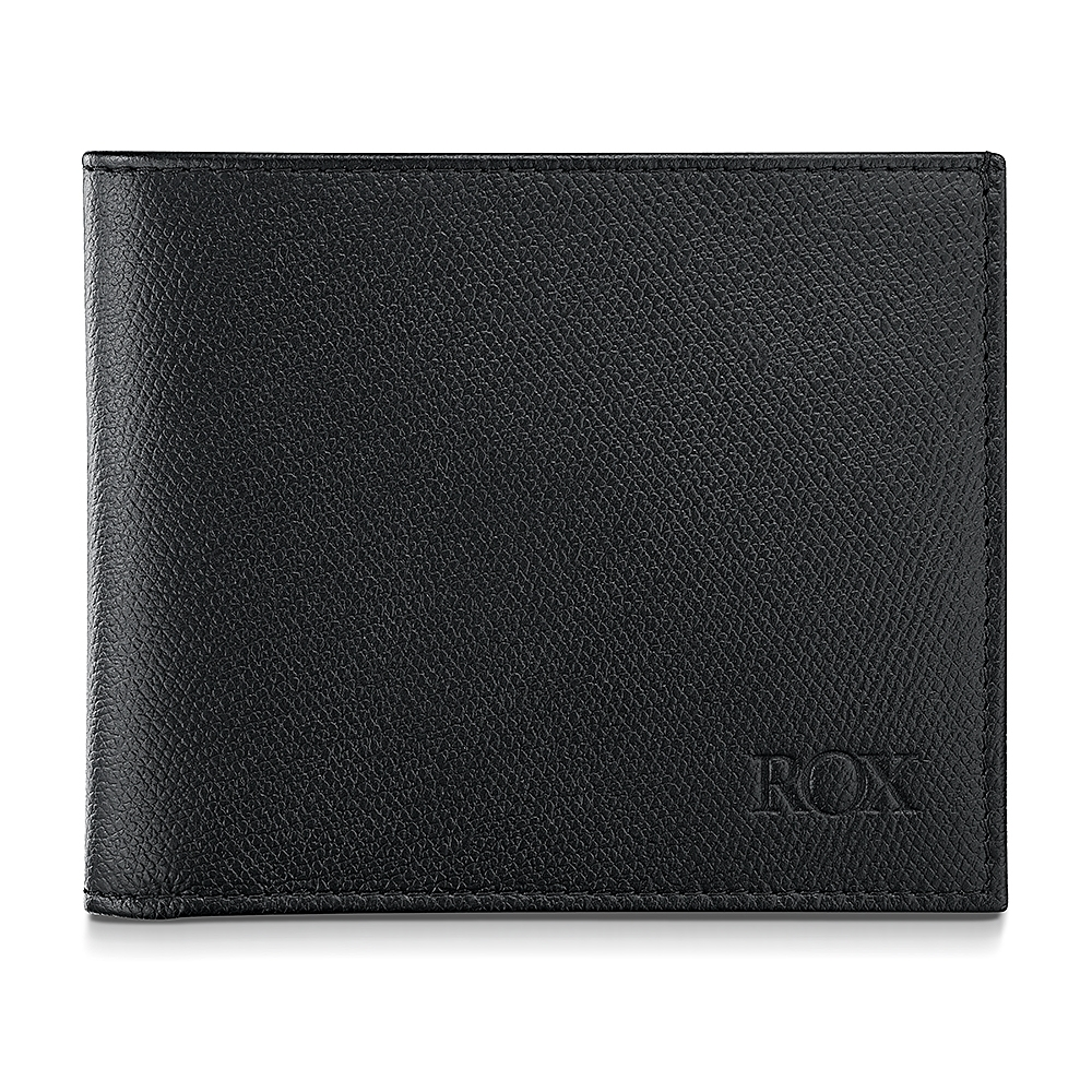 ROX Bi-fold Saffiano Leather Wallet