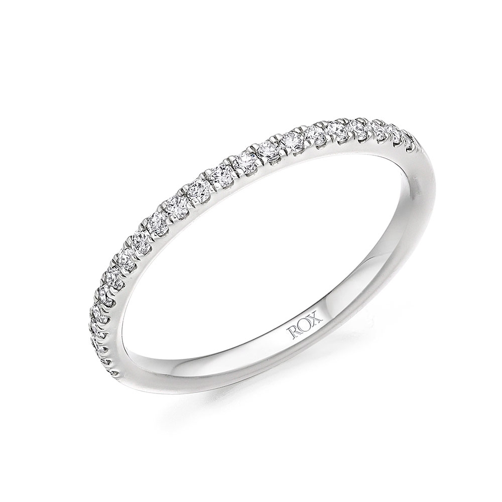 ROX Claw Diamond Eternity Ring 0.25ct