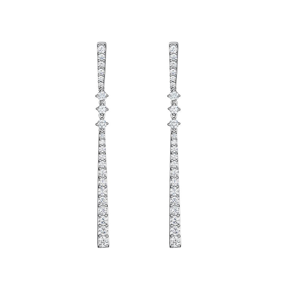 ROX Diamond Drop Earrings 1.48cts