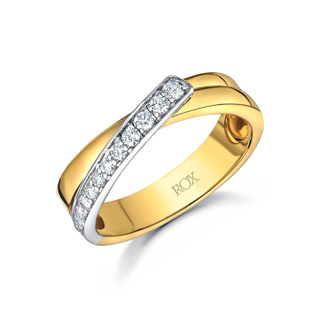 ROX Diamond Dress Ring 0.19cts