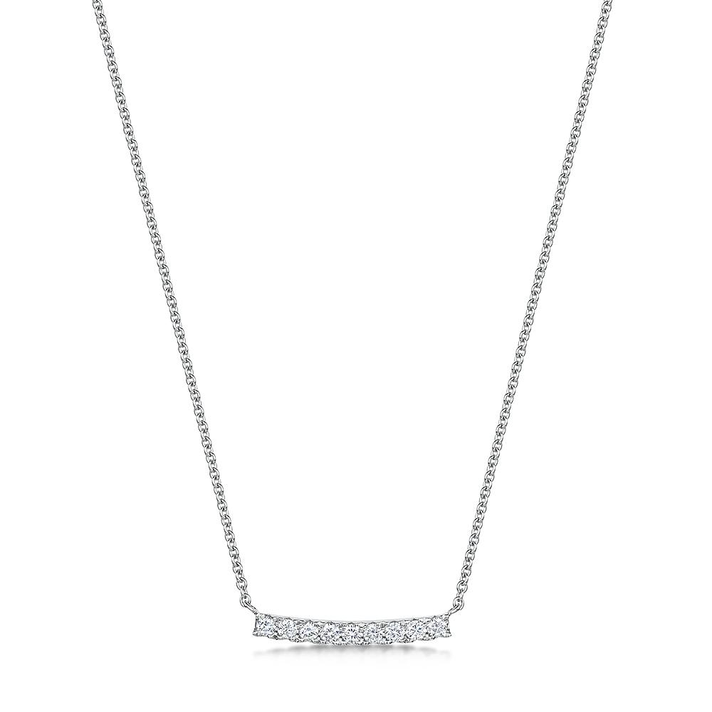 ROX Diamond Bar Pendant 0.14cts