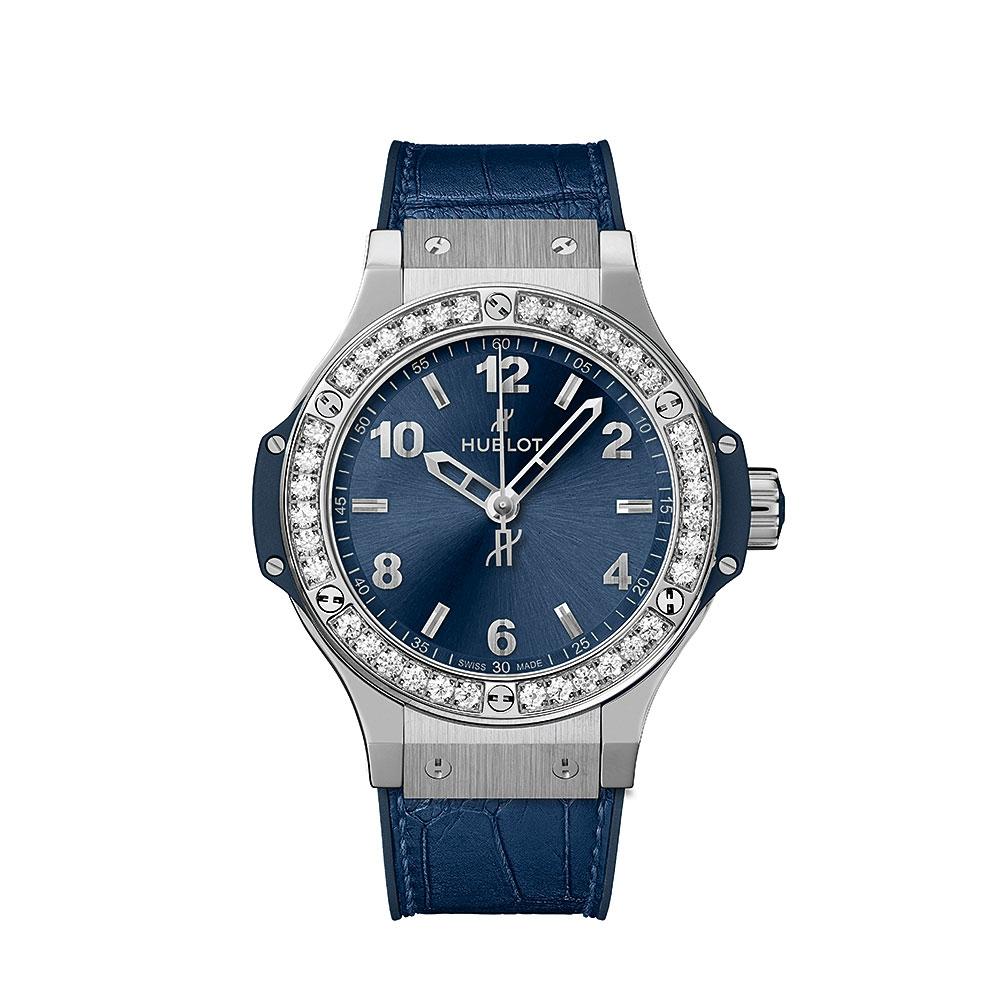 Hublot Big Bang Blue Diamond Watch
