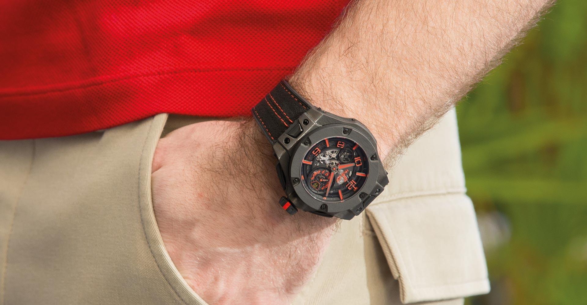Hublot Big Bang Ferrari Unico Carbon Watch