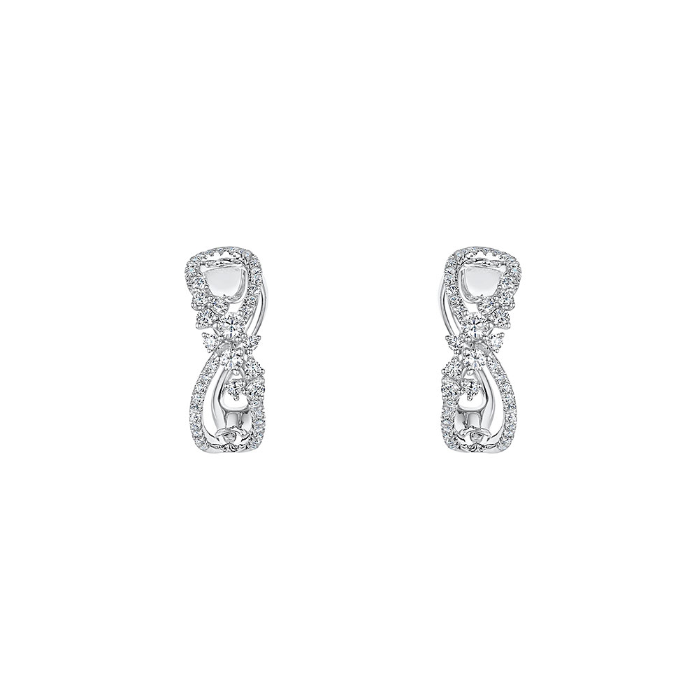 ROX Diamond Hoop Earrings 0.59cts