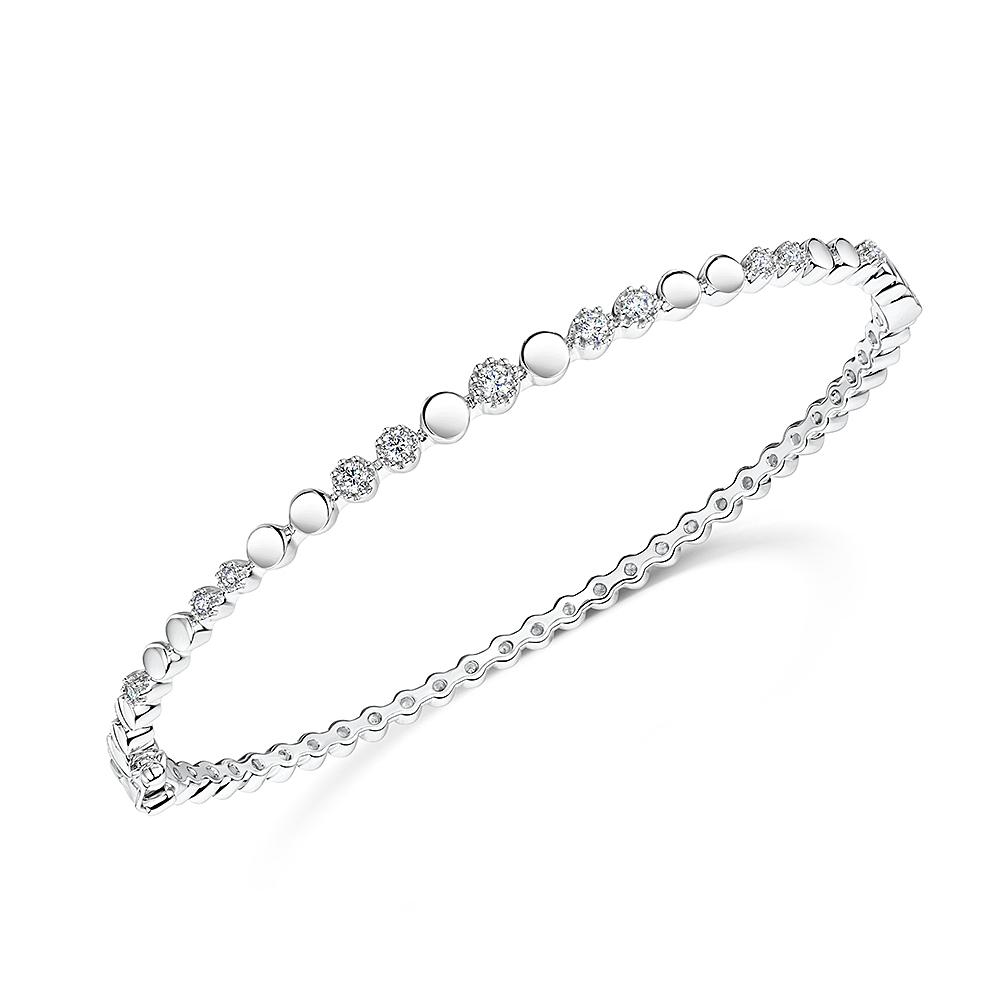 ROX Diamond Bangle 0.24cts