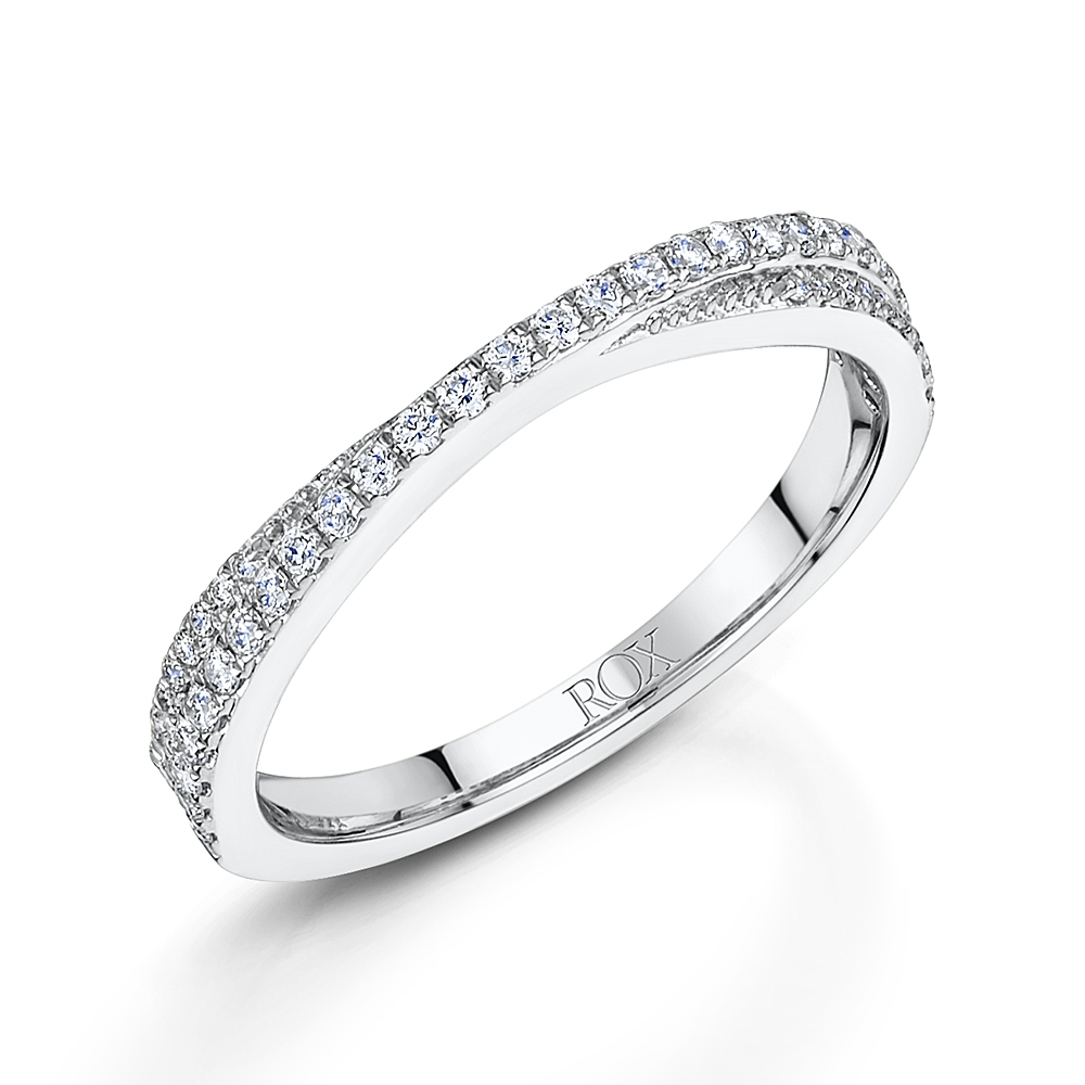 ROX Diamond Stacking Ring 0.22cts
