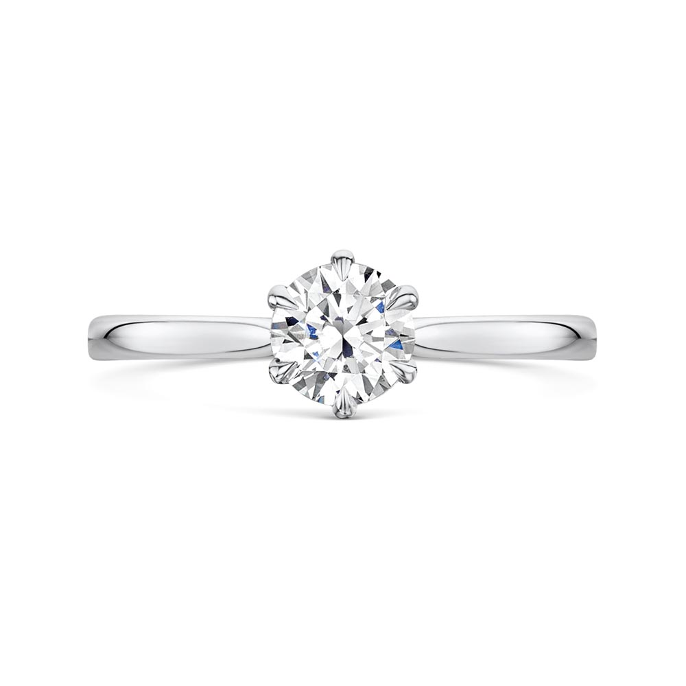 ROX Honour 6-Claw Diamond Engagement Ring